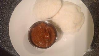Kara Poondu Chutney Or Spicy Garlic Chutney with english subtitle