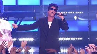 Bruno Mars Performs Medley & Wins Innovator Award at 2017 iHeartRadio Music Awards