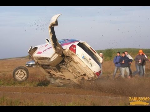 Accidentes rally rally accident