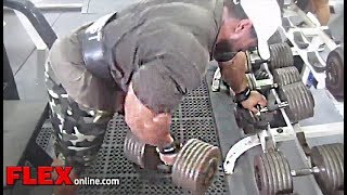 Roelly Winklaar's Chest, Shoulder, Back And Legs Training For Beast SIZE