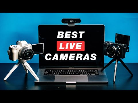 Best CAMERAS for LIVE Streaming on Facebook Live YouTube Live and Twitch