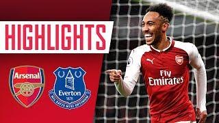 Aubameyang, Mkhitaryan & Ramsey on fire!   Arsenal 5 - 1 Everton   Goals and highlights