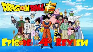 Dragon Ball Super Episode 4 English Dub Review