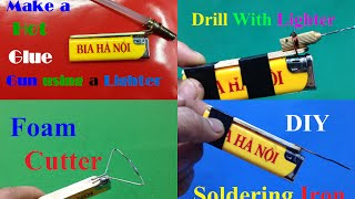 4 crazy Tools from a Lighter You've Never Seen Before - Lighter Hacks