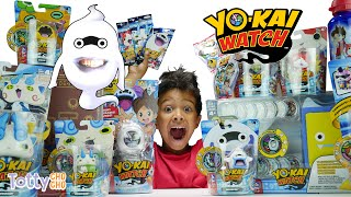 Most YO-KAI Watch Toys on YouTube + Real Life Whisper!  ✳ TottyChoCho
