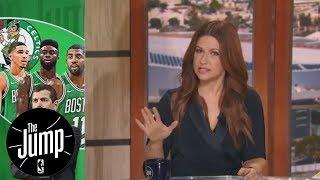 Celtics showing
