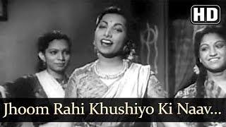 Jhoom Rahi Khushiyo Ki Naav Aaj (HD) - Vidya Song - Dev Anand - Suraiya - Filmigaane