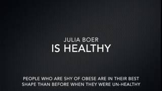 julia boer is healthy