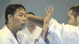 Karate Wado Ryu reportage sur le stage instructeurs en France par Sensei Kazutaka Otsuka en 2011 pré