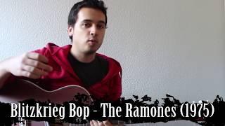 Hey Ho Let's Go! Como tocar Blitzkrieg Bop - Ramones. Canción fácil.