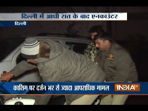 Wanted Criminal Arrested after an Encounter with Police in Okhla, Delhi