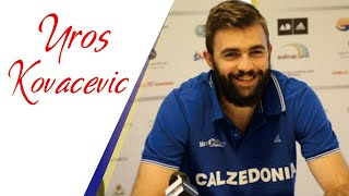 Top 20 Actions by Clever Player | UROS KOVACEVIC vs. Germany | EuroVolley2017