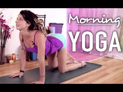 Morning Yoga - Beginners 20 Minute Energizing Morning Flow