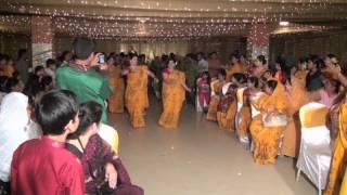 Fahad Bhaia and Titisha Apur Gaye holud enterance