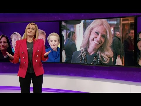 The Great Feminists in Feminism Herstory Hall of Lady Fame Full Frontal with Samantha Bee TBS