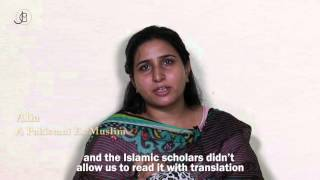 Pakistani Ex-Muslim girl: I find peace from the Bible, not the Quran