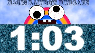 Chica's Magic Rainbow Minigame - Deathless Victory in 1:03