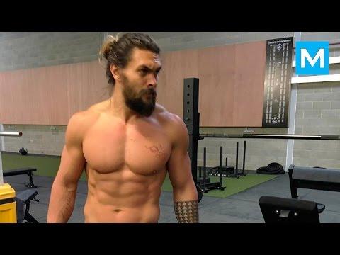 Xxx Mp4 Jason Momoa Workout For Batman V Superman Muscle Madness 3gp Sex