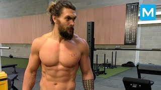 Jason Momoa Workout for Batman v Superman | Muscle Madness