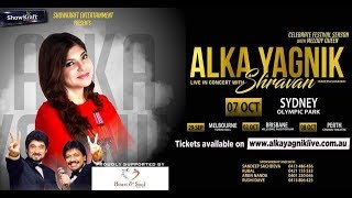 Alka Yagnik | Live In Aus & NZ | Promo Video