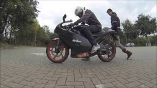 How to Ride a Geared 50cc | Beginners guide - Aprilia RS50