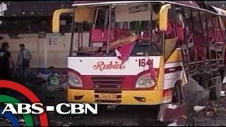1 patay, higit 30 sugatan sa pagsabog ng bus sa Zambo