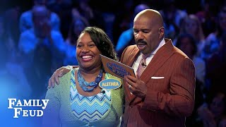 The Frosts play Fast Money! | Family Feud