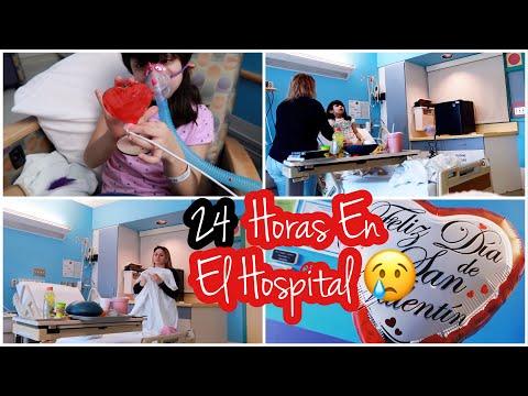Más de 24 Horas en un Hospital 😢 Mi Rutina En el Hospital con Mi hija 👩❤️👩 vlogs KarenVlogs
