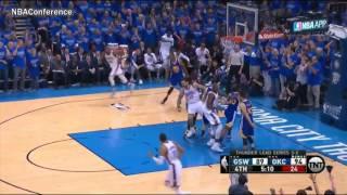 Golden State Warriors vs Oklahoma City Thunder   Game 6   4th Quarter Highlights   2016 NBA Playoffs