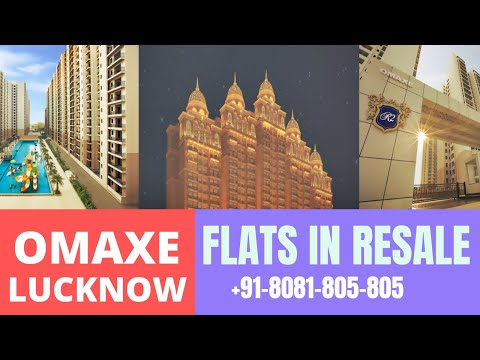 Omaxe-Lucknow-3-BHK Flats for sale-gomti-nagar-extension+91-8081-805-805