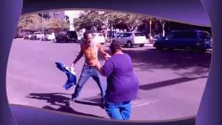 Drunk people fighting, super funny to watch!