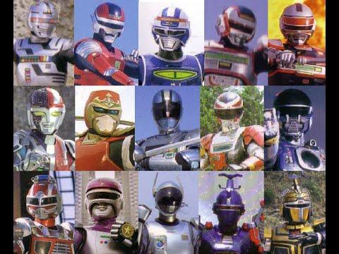 Metal Heroes Henshin 1982 1996
