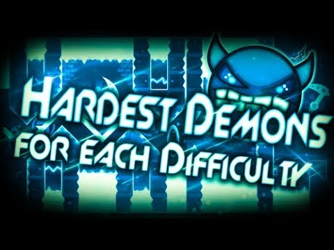 Xxx Mp4 Geometry Dash Hardest Demons For Each Demon Difficulty 3gp Sex