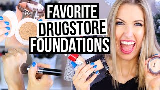 Beginner Makeup Guide    DRUGSTORE FOUNDATIONS FAVES