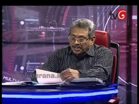 360 with Gotabhaya Rajapakse 16th March 2015