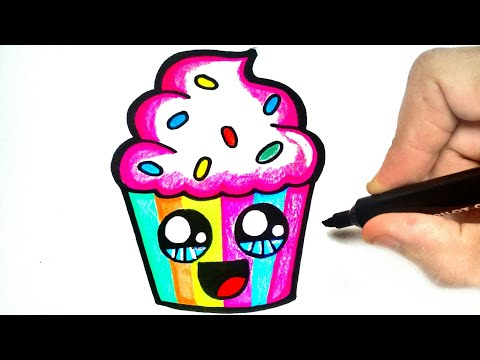 Xxx Mp4 HOW TO DRAW A CUPCAKE 3gp Sex