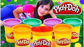 Play Doh For Kids & Modelling Clay Fun with Surprise Eggs Paw Patrol Shopkins Frozen Minions