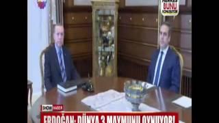 """Erdoğan: """"Dünya 3 Maymunu oynuyor!"""""""