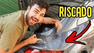 RISQUEI O CARRO DO REZENDE E DEU RUIM !! - TROLLANDO O REZENDE [ REZENDE EVIL ]