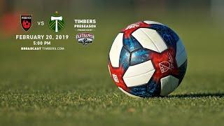Portland Timbers vs. Phoenix Rising FC | Preseason | Feb. 20, 2019