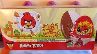 Angry Birds Surprise Chocolate Eggs Box with Pendant Collection Huevos Sorpresa