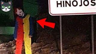 Top 5 Bromas de Payasos Asesinos Que Salen Mal | Payasos Perturbadores Captados En Cámara