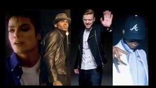 Michael Jackson ft Chris Brown, Justin Timberlake, Usher -