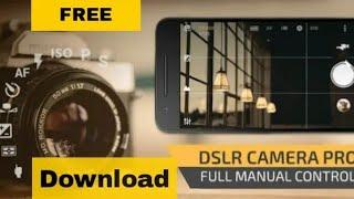 👍Download manual camera pro DSLR camera   best app for photo shoot