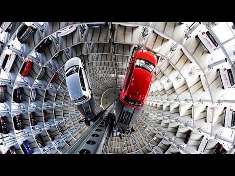 SUPER PRAKTIS,,6 Tempat Parkir Ini Paling Canggih SEJAGAT RAYA