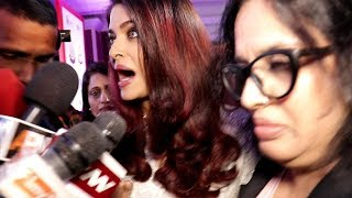 Aishwarya Rai Harassed By Media Reporters Publicly On Women