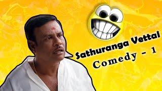 Sathuranga Vettai Tamil Movie Full Comedy Scene | Natraj | Ishara Nair | H Vinoth | Sean Roldan