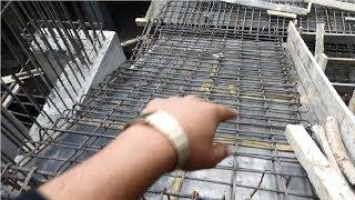 Rcc U shape stair case reinforcement