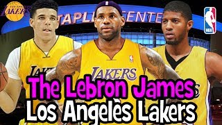 LEBRON JAMES SIGNING WITH THE LOS ANGELES LAKERS! 2018 NBA OFF SEASON! NBA 2K17 REBUILD CHALLENGE!