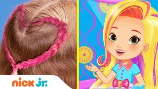 How to Make a Friendship Braid 💕  Style Files Hair Tutorial | Sunny Day | Nick Jr.